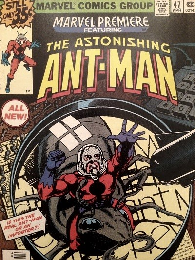 Scott Lang first appearance as Ant-Man