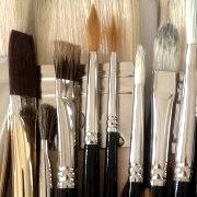 Types of paintbrush for oil painting