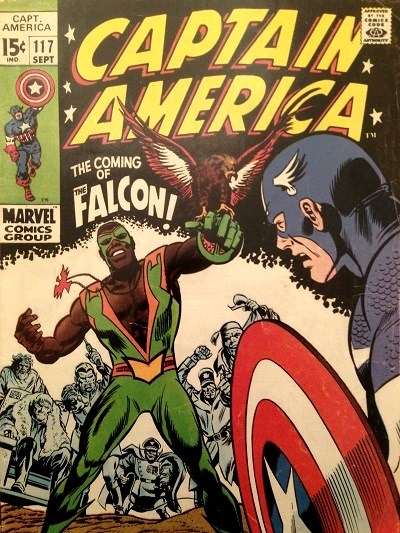 Comic book, first appearance of Falcon