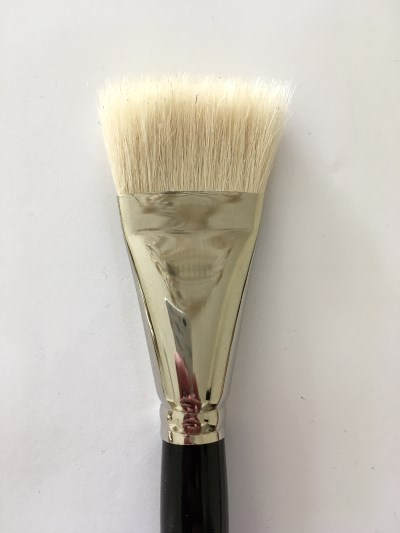 Large goat paintbrush for blending