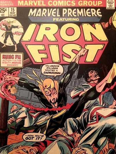Comic book, first appearance of Iron Fist