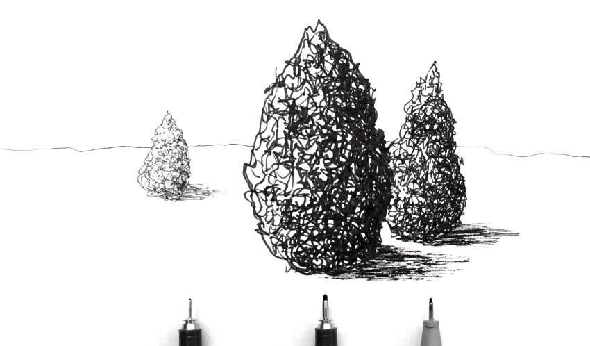 Different nib sizes for different marks