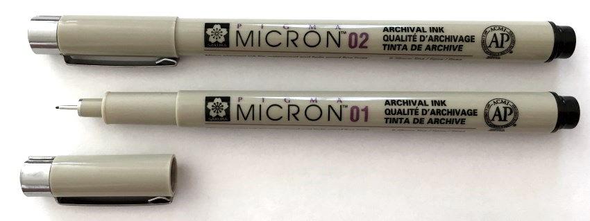 Pigma Micron technical pen by Sakura