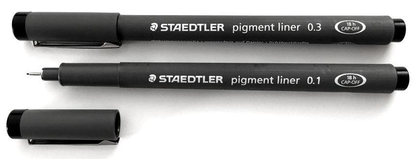 Staedtler Pigment Liner technical pen