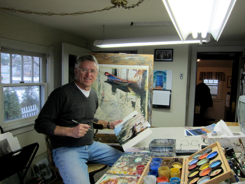 Artist Of The Month Painting Tips By Fine Art Painters