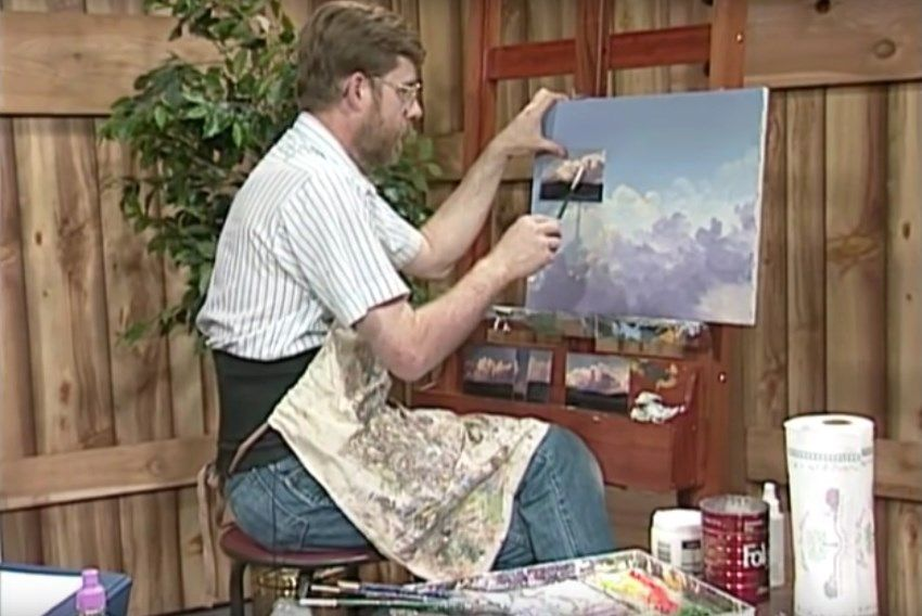 Jerry Yarnell YouTube painting channel