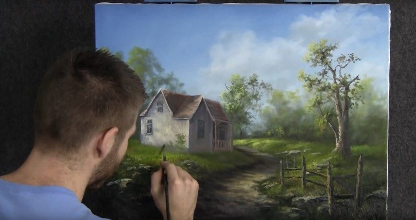 Kevin Hill YouTube channel for learning to paint