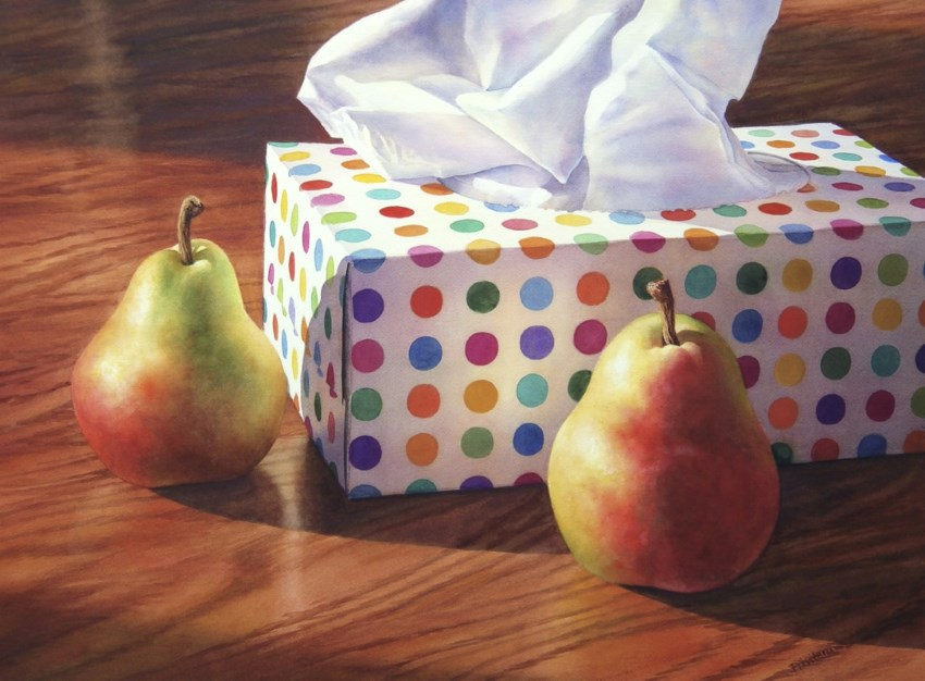 Still life watercolor painting by Lana Privitera