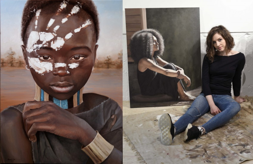 Rebekah Codlin and her beautiful portrait oil paintings