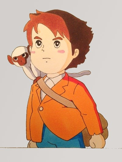 Anime and manga, Marco Rossi cartoon character