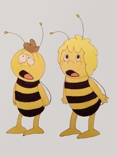 Maya the bee and Willy comics, Anime and manga
