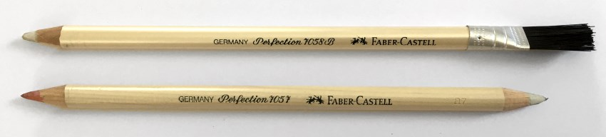 Faber-Castell Perfection pencil erasers