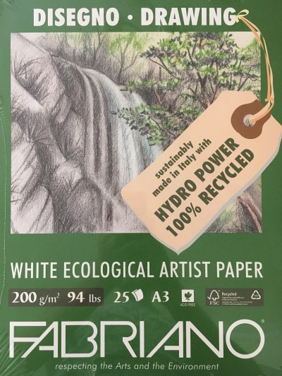Ecological recycled paper by Fabriano