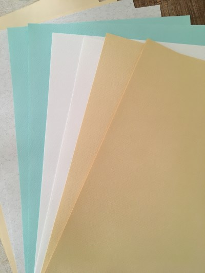 Single paper sheets by Fabriano