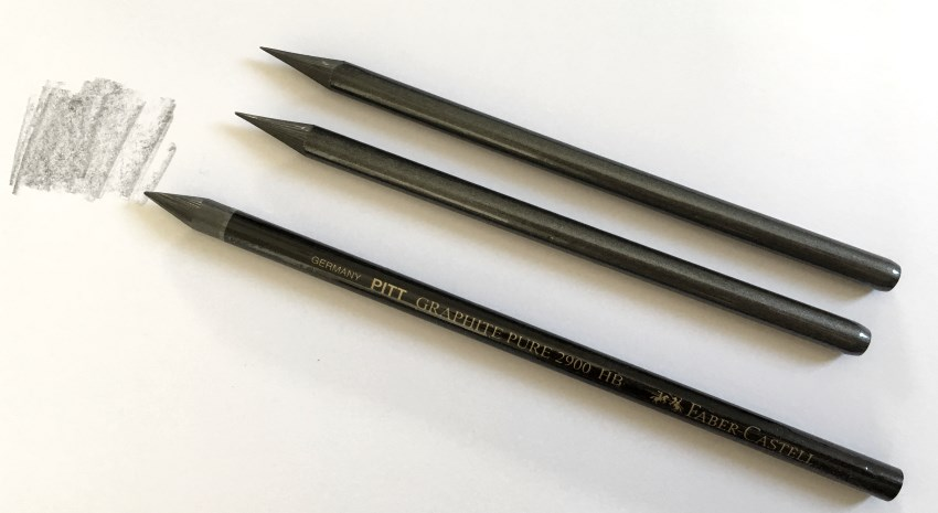 Graphite sticks for drawing